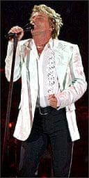 Rod Stewart at Sheffield Arena
