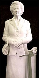 Statue of Margaret Thatcher by Neil Simmons