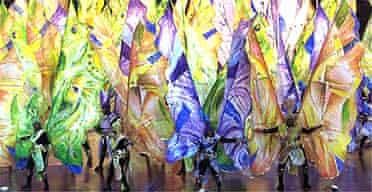 Notting Hill Carnival dancer