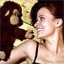 Ventiloquist Nina Conti and her dummy monkey