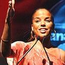 Ms Dynamite at Mercury Music prize 2002