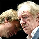 Daniel Craig and Michael Gambon in A Number, Royal Court