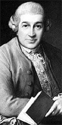 David Garrick, as painted by Gainsborough