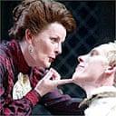Brenda Blethyn and Laurence Fox in Mrs Warren's Profession, Strand, London