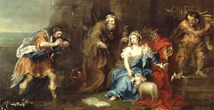 A scene from The Tempest by William Hogarth
