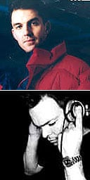 Tim Westwood (top) and Pete Tong