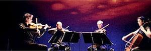 Kronos Quartet performing Sun Rings