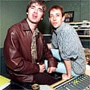 Noel Gallagher with Steve Lamacq