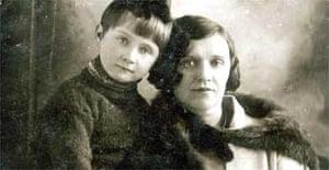 Basya Chaika and her mother Rachel