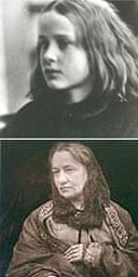 Annie - My First Success (top), by Julia Margaret Cameron (bottom, photographed by her husband)