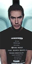 Robert '3D' del Naja of Massive Attack