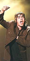 Liam Gallagher, Oasis, 1996