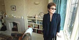 Yoko Ono at John Lennon's restored childhood home