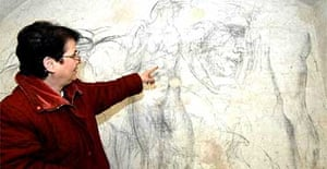 Michelangelo drawing