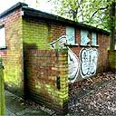 disused lavatory block where Whitworth paintings were found