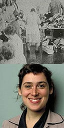 A still from The State of Things (top) by Rosalind Nashashibi (bottom)