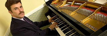 Jonathan Phillips and his Steinway