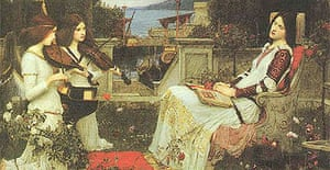 Waterhouse's 1895 painting of St Cecilia