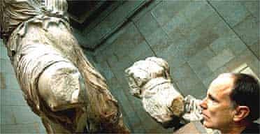 Richard Divers, Parthenon Marbles