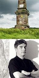 The obelisk on Wychbury Hill and Simon Holt