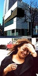 The Rosenthal Center of Contemporary Art in Cincinnati by Zaha Hadid