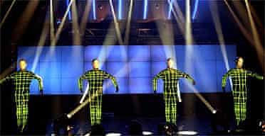 The Kraftwerk robots