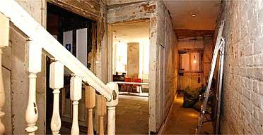 Benjamin Franklin's to-be-restored house