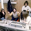 The Beatles during the recording sessions for Let It Be