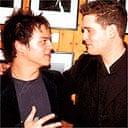 Jamie Cullum and Michael Buble