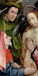 Bosch's Christ Mocked. Photograph: National Gallery