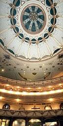 Interior of refurbished Coliseum, London