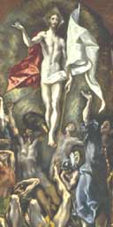 The Resurrection, El Greco