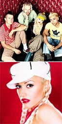 Gwen Stefani in No Doubt and on her own