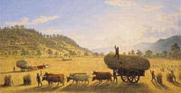 John Glover's My Harvest Home, 1835