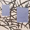 Detail from Raoul De Keyser's Bern-Berlin-hangend, 1993