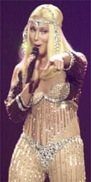 Cher in concert on her farewell tour