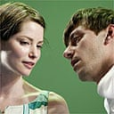 Sienna Guillory and Enzo Clienti in The Shape of Things at the New Ambassadors
