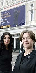 Gemma Bodinetz and Deborah Aydon at Liverpool Playhouse