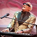 Ray Charles performing in 1996