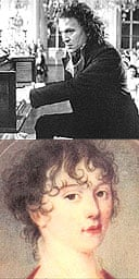 Beethoven as played by Gary Oldman and Julia Guicciardi