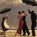 Detail from The Singing Butler by Jack Vettriano