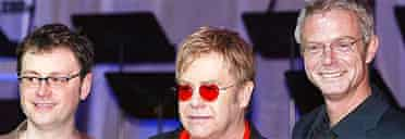 Lee Hall, Elton John and Stephen Daldry launch Billy Elliot the Musical