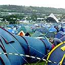 Campsite, Glastonbury 2004