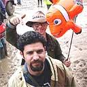 Ghaith Abdul Ahad at Glastonbury 2004