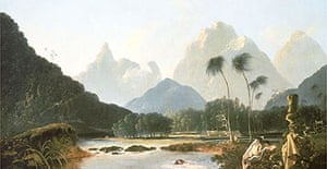 Tahiti Revisited, 1776, by William Hodges