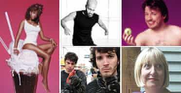 Edinburgh preview 2004: Clockwise from top left: Kelis, Akram Khan, Richard Herring, Lynne Truss, Flight of the Conchords