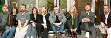 UK theatre producers: Simon Mellor, Christine Gettins, David Jubb, Vicki Middleton, Judith Knight, Mark Ball, Rachel Clare, Simon Casson and Nick Sweeting