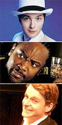 Perrier hopefuls 2004: Chris Addison, Reginald D Hunter, Chris John Jackson