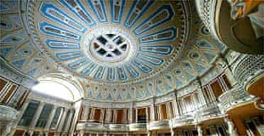 The small concert hall in St George's Hall, Liverpool