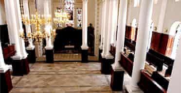 The nave of Christ Church, Spitalfields